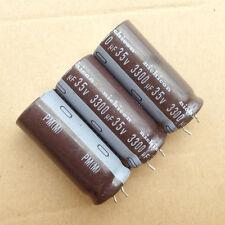 1lot/8PCS Nichicon PM UPM 35V 3300uF 105c Low Res Aluminum capacitor Cap 18*40