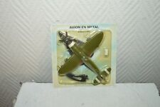 AVION METAL  GUERRE P-47D-5 THUNDERBOLT   MAQUETTE PLANE/PLANO 1:100 ATLAS