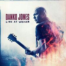 DANKO JONES - LIVE AT WACKEN - CD/DVD NEW SEALED 2016