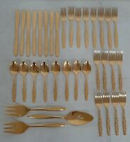 """Waterford COVINGTON Set of 4 NEW Salad Forks 7 3//8/"""" Stainless Flatware"""