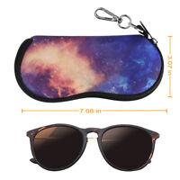 Portable Anti-scratch Dust-proof Neoprene Zipper Eye-Glass Eyeglasses Case Bag
