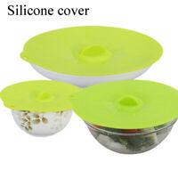 bouchon de déversement pot de universel couvre le silicone lid bol pan