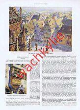 L'illustration 4200 du 01/09/1923 Hansi Colmar Djerba Orly Sem Incendie Provence