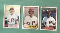 1982 Topps, Donruss, and Fleer STEVE CARLTON Baseball Card #480 Free Ship