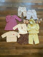 Baby Girl's Clothes size 0-6, 10 pieces