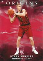 2019-20 Panini Origins Basketball Red Parallel #57 Dylan Windler