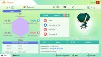Sylveroy & Blizzeval & Spectreval Shiny 6iv Square Pokemon Épée&Bouclier DLC...