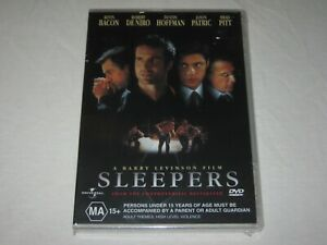 Sleepers - Kevin Bacon - Brand New & Sealed - Region 4 - DVD
