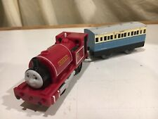 Motorized Skarloey with Blue Coach Car for Thomas & Friends Trackmaster Railway