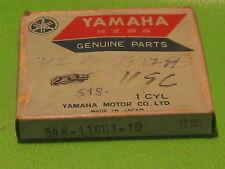 YAMAHA YZ80 1977-79 PISTON RING SET 1ST OVER SIZE OEM #5T8-11601-10