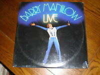 Barry Manilow LP Live SEALED