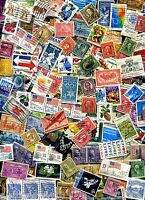 USED lot of 100+ mixed US stamps off paper - GREAT value with a  BONUS Offer!