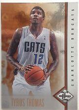 Tyrus Thomas Forward Charlotte Bobcats #59 Single 10 Original 2011-2012 Panini