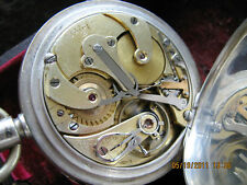 Henri Jacot Burmann high grade,very early chronograph no. 177,unusual patent