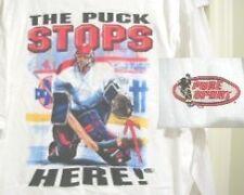 Hockey T-Shirt The Puck Stops Here Goalie Xxl New Aaa+