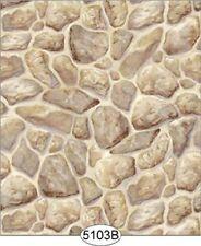 Dollhouse Wallpaper Castle Stone