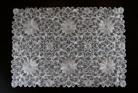 White Ivory Embroidered Lace Placemat Runner Wedding Passover Banquet Party Deco