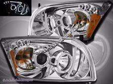 07-12 Dodge Caliber SRT-4 SXT R/T SE CCFL Halo LED Projector Headlights Clear