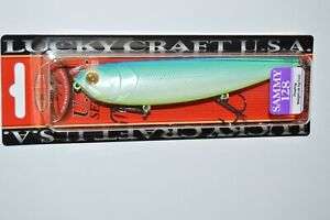 """lucky craft sammy 128 topwater lure 5"""" 1oz floating citrus shad walk the dog"""