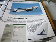 Airlines Archiv Kapverden TACV Cabo Verde Airlines Abseits von Europa 4S