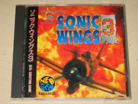 SNK Neo Geo CD SONIC WINGS 3 Import Japan