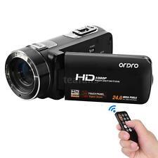 ORDRO HDV-Z8 1080P HD Digital Video Camera 16× Zoom 24MP Face Detection DVR N1E1
