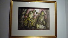 Eckenberger Reinaldo - Aquarelle signée - Art brut / Art singulier - Jazz