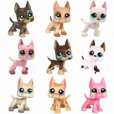 Rare Littlest Pet Shop LPS Toys Great Dane Animals Collection Figure Kids Gifts