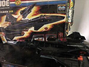 1986 GI Joe Cobra Night Raven S3P With Box