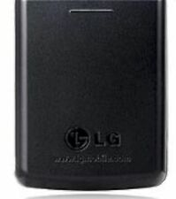 GENUINE LG KG270 BATTERY COVER Door BLACK candy bar style cell phone back panel