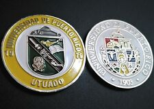 UNIVERSIDAD DE PUERTO RICO UPR UTUADO University College Campus medal GUARAGUAOS
