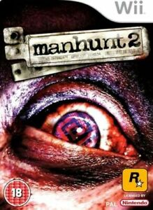 Wii - Manhunt 2 - Same Day Dispatched - Boxed - VGC