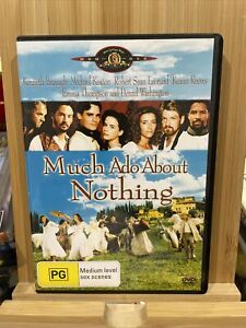 Much Ado About Nothing DVD Region 4 Rare