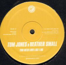 TOM JONES & HEATHER SMALL - Vyou Need Love Like Oui - GUT