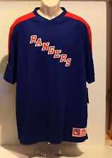 NHL New York Rangers Majestic Men's XL Blue Jersey NWT
