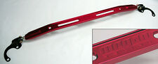 Red Front Upper Strut Tower Brace Bar Megan Racing for Honda Civic Acura Integra