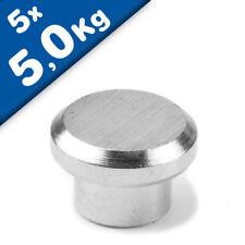 24//48//72x Neodym Magnet Kegelmagnet Pinnwand Kegelmagnete Pin Büromagnete Neu