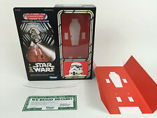 """replacement vintage star wars 12""""  stormtrooper box + inserts"""