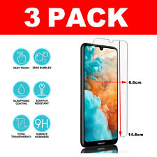 For Huawei Y6 (2019) Tempered Glass Screen Protector - CRYSTAL CLEAR
