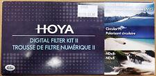 NEW Hoya 40.5mm Digital Filter Kit II HMC UV, Slim CPOL Circular Polarizer, ND8