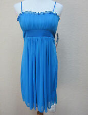 NWT Josh & Jazz Junior's Size 9/10 Blue Prom Homecoming Cocktail Party Dress