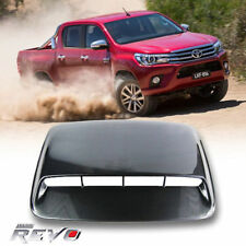 KEVLAR BONNET SCOOP HOOD COVER FOR TOYOTA HILUX REVO TURBO M70 M80 4WD 4x4 15-17