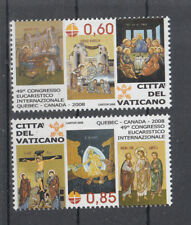 G 004 ) VATICAN 2008 MNH - Eucharistic World Congress  mint never hinged