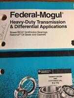 1991 FEDERAL-MOGUL TRANSMISSION DIFFERENTAL PARTS CATALOG
