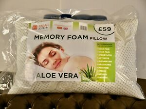 Aloe Vera 2 Memory Foam Luxury Pillows- Priced Reduce by 50%