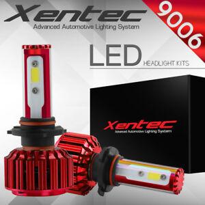 XENTEC LED HID Headlight kit 9006 White for 2002-2006 Chevrolet Trailblazer EXT