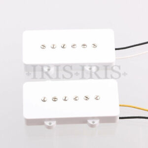 Guitar Pickups Alnico 5 for Jazzmaster Style Electric Guitar White
