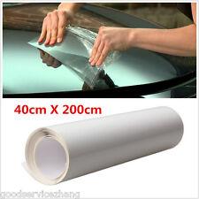 40x200cm Car Door Edge Clear Protective Satin Finish Vinyl Wrap Guard Film Sheet