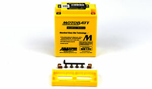 Motobatt Battery For Kawasaki Z 400 H3 LTD 1981 (0400 CC)