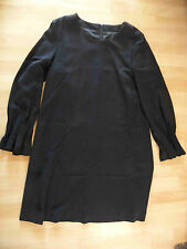 HANDARBEIT UNIKAT chices Kleid schwarz Gr. 42  SJ216